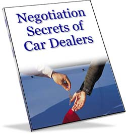 Negotiation Secrets of Car Dealers