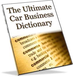 The Ultimate Car Business Dictionary